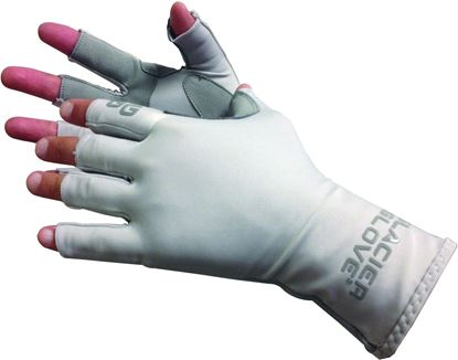 Picture of Glacier 079GY-XL Islamorada Sun Glove, Grey