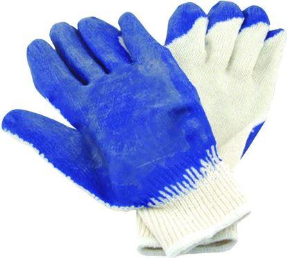 Picture of Hi-Seas HG-502-L Sea Grip Non-Slip Gloves, Dark Blue/White, Large, 1 pair