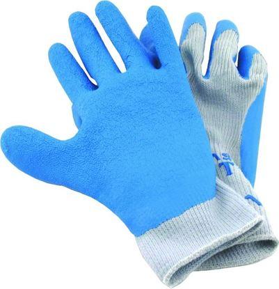 Picture of Hi-Seas HG-310-L Sea Grip Premium Non-Slip Gloves, Light Blue/White, Large, 1 pair