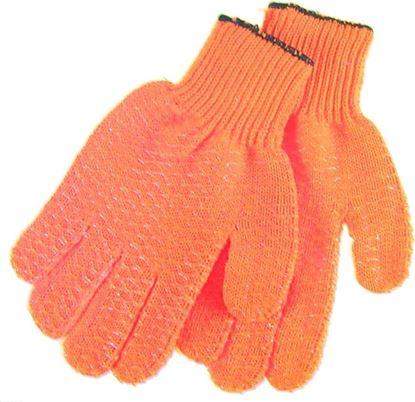 Picture of Hi-Seas HG-404-L Sea Grip Non-Slip Pattern Gloves, Orange, Large, 1 pair