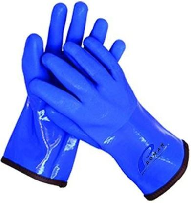 Picture of Promar GL-400B-L Insulated ProGrip Gloves Blue Large