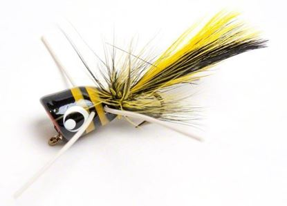 Picture of Betts 304-8-3 Bee Pop Popper Black/Yellow Stripes Sz 8