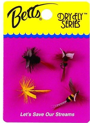 Picture of Betts 1010-12 Dry Fly Series Sz 12 4 pc