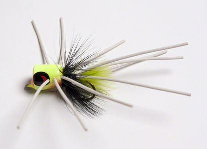 Picture of Betts 1201-10-6 Pop n' Hot Fly Popper Glow Sz 10