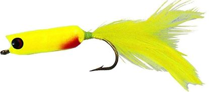 Picture of Betts 108-1 Pop-N-Stripe Fly Popper, Sz 1/0, , Pearl White
